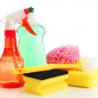 Cleaning supplies — Stock Photo #3753888