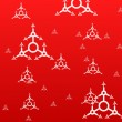 Red xmas background — Stock Photo