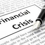 Financial crisis — Stock Photo #3754084