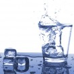 Ice water — Stock Photo