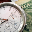 Stock Photo: Time and money