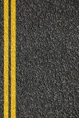 Road texture with lines — Foto Stock