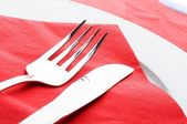 Fork and knife — Foto Stock