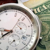 Time and money — Stock fotografie