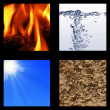 Four elements — Stock Photo #3807184