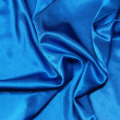 Blue satin background — Stock Photo