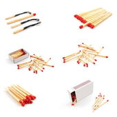 Matches collection — Stock Photo