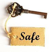 Safe concept — Stock Photo