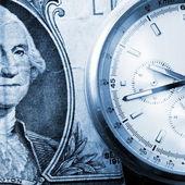 Concetto di tempo finanziario — Foto Stock
