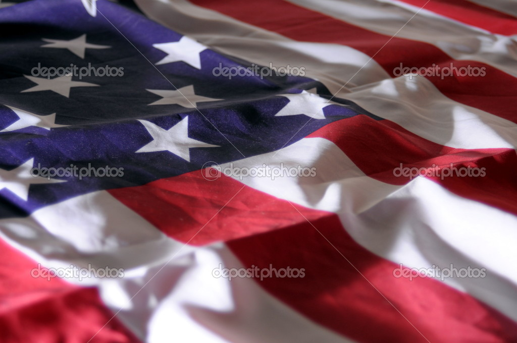 Flag of united states of ameriaca or usa                              — Stock Photo #3807351