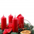 Christmas wreath — Stock Photo #3810144