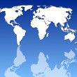 World map — Stock Photo #3810422