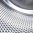 Washing machine drum background - Stock Photo