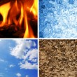Basic elements of nature - Foto Stock