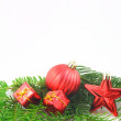 Xmas or christmas still life — Stock Photo #3833989