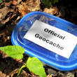 Geocache — Stock Photo