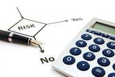 Planning risk — Stock Photo