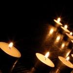 Romantic candle light — Stock Photo