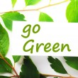Go green — Stock Photo #3870415