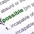 Possible - Foto de Stock