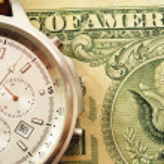czas i pieniądze — Zdjęcie stockowe