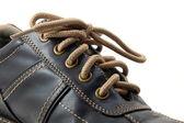 Macro of a shoe — Stock Photo