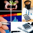 Business collage — Stock Photo #3979304