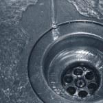 drenażu wody — Zdjęcie stockowe