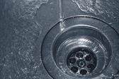 Water drain — Stock Photo