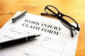 Work injury — Stock Photo