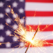 Foto Stock: Fourth of july
