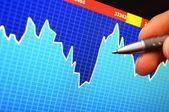 Stock exchange — Stock Photo