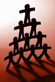 Team and teamwork — Stock Photo