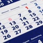 Calendar — Stock Photo #4028306