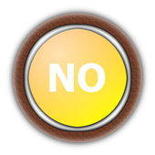 Yes and no — Stock Photo