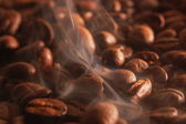 Roasting coffee — Stock Photo