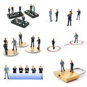 Biznes człowiek kolekcja — Zdjęcie stockowe
