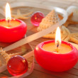 Hot candles — Stock Photo