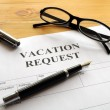 Vacation request — Stock Photo #4064304