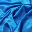 Blue satin background — ストック写真