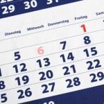 Calendar — Stock Photo #4101876
