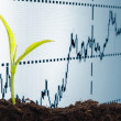 Growing economy — Stock Photo