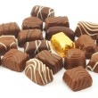Chocolate praline — Stock Photo