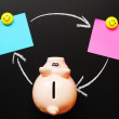 Piggy bank - Foto de Stock