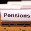 Pensions — Stock Photo