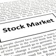 Stock market - Stock Photo