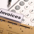 Stock Photo: Invoice