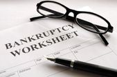 Bankruptcy — Stock Photo