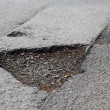 Stock Photo: Pothole