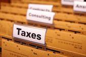 Steuern — Stockfoto